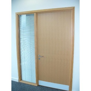 Office Doorsets with Side Screens