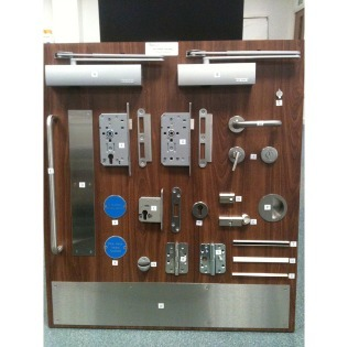 Ironmongery Sample Boards