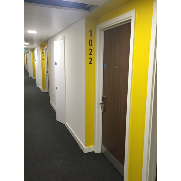 CL Range Laminate Doorsets at Cartwright Gardens.