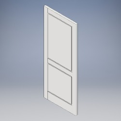 2 Panel (Grooved)
