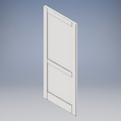 2 Panel (No Bead)