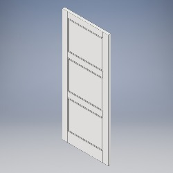 3 Panel (Grooved)