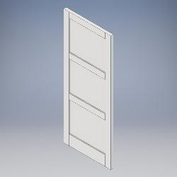 3 Panel (No Bead)