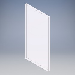 6.8mm White Laminated (NFR)