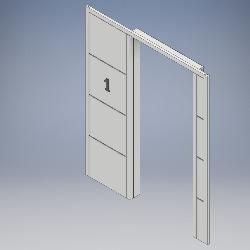 Grooved Side Panel Portal