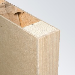 MDF Substrate, Softwood Framed, Hollow Core, Lipped Long Edge (Concealed)