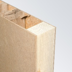 MDF Substrate, Softwood Frame, Hollow Core
