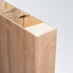 Plywood Face, Softwood Framed, Hollow Core, Lipped Long Edges (Exposed)