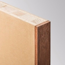 Lightweight Solid Timber Core, MDF Face, Lipped All Edges