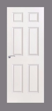 6 Panel Moulded Door (Smooth)