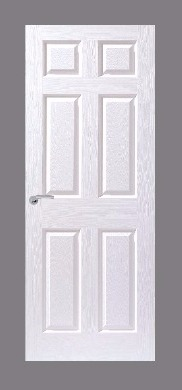 6 Panel Moulded Door (Textured)
