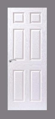 6 Panel Moulded Door (Textured)