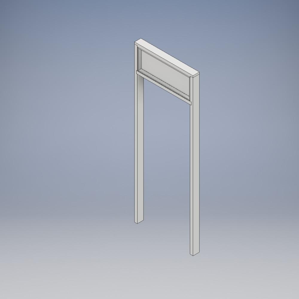 Doorsets with Overpanel