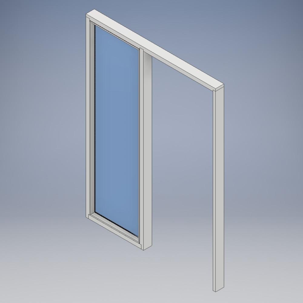Doorsets with Side Screen