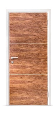 Homeguard Doorsets with Veneered Inlays (PAS24)